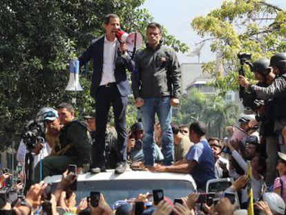 El movimiento para lograr una salida a la crisis de Venezuela incluía la convocatoria de elecciones y descarriló con la liberación de Leopoldo López, que irritó a la jerarquía chavista implicada y cuya precipitación critica gran parte de la oposición