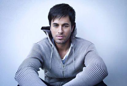 El cantante Enrique Iglesias.