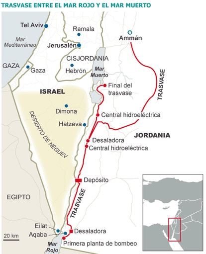 Fuente: The Israel Project.