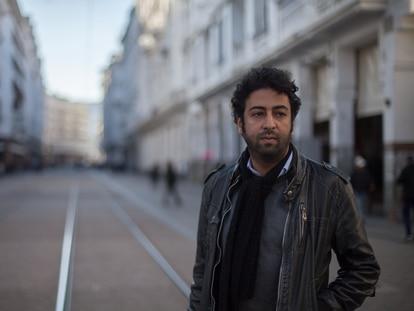 El periodista Omar Radi, en Casablanca en 2018.