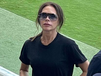 Victoria Beckham, en un partido del Inter de Miami celebrado en Fort Lauderdale, Florida, en abril de 2021.