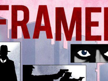 Captura del juego 'Framed'.