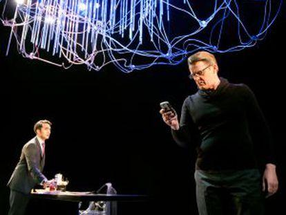 Escena de 'The Hard Problem', en el National Theatre de Londres.