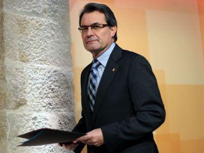 El president de la Generalitat, Artur Mas.