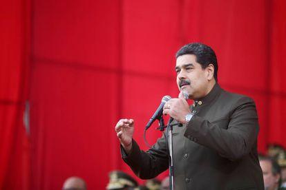 Nicolás Maduro participa en una ceremonia militar en Caracas el 1 de junio.