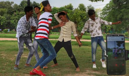 Un día en Nueva Delhi cuando hay Tik Tok por medio