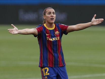 Guijarro, en el partido ante el PSG en las semifinales de la Champions.
