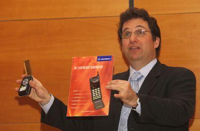 Kevin Mitnick, durante la conferencia en que ha impartido en San Sebastián.