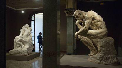La escultura 'El Pensador', de Rodin.