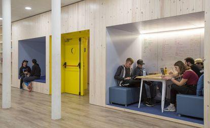 El espacio de aprendizaje Learnlife, en Barcelona.