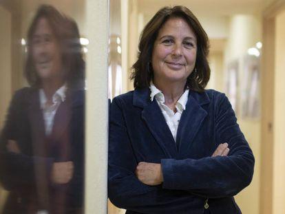 María Jesús Herrera, jefa de la misión en España de la Organización Internacional para las Migraciones.