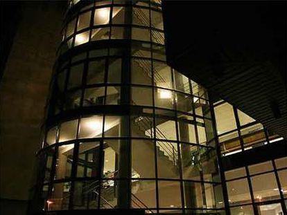 Edificio de los juzgados de Vigo.