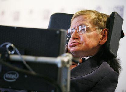 El físico Stephen Hawking está en Santiago de Compostela para recibir el I Premio Fonseca.