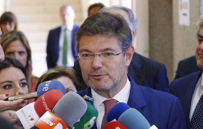El ministro de Justicia, Rafael Catalá, el pasado 2 de junio.