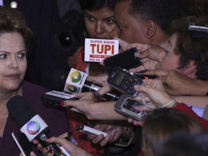 Rousseff, en Brasilia el pasado 5 de agosto.