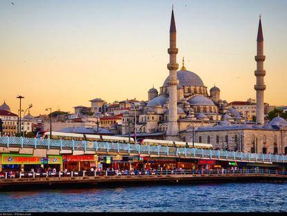 Vista de Estambul.