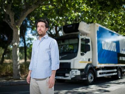 Íñigo Juantegui, fundador y consejero delegado de Ontruck, empresa tecnológica orientada al transporte de última milla.