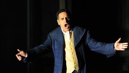 Juan Diego Flórez, en la Royal Opera House de Londres, el 14 de septiembre de 2019.
