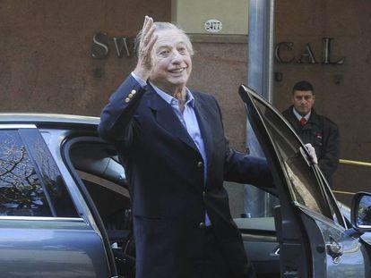 Franco Macri, padre del presidente Mauricio Macri, en una foto de 2016.