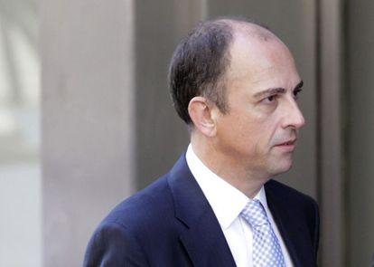 Benjamín Martín Vasco, a su llegada a la Audiencia en 2009.