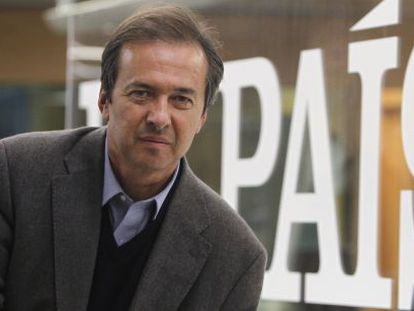 El escritor Javier Moro.