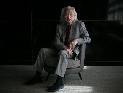 Michio Kaku, en un congreso celebrado en Barcelona.