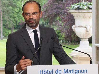 Édouard Philippe, tras reunirse con los sindicatos de la SNCF