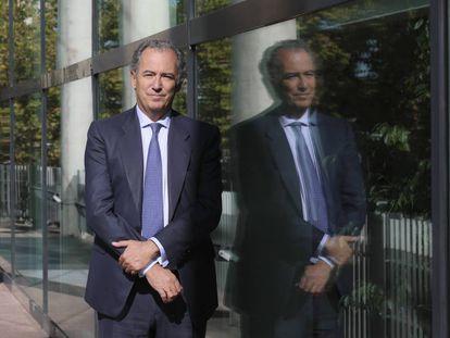 El consejero de Educación, Enrique Ossorio, en la Asamblea de Madrid.