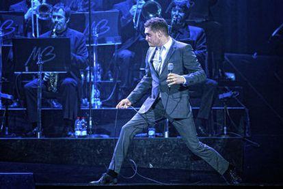 Michael Bublé, en el Palacio de los Deportes.