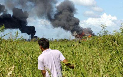 La explosión del Pozo Terra 123 en Tabasco.