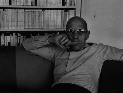 El pensador francés Michel Foucault