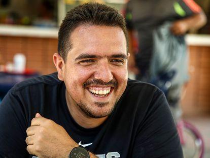 Stalin González en el Parque Generalisimo Francisco de Miranda, en Caracas, Venezuela.