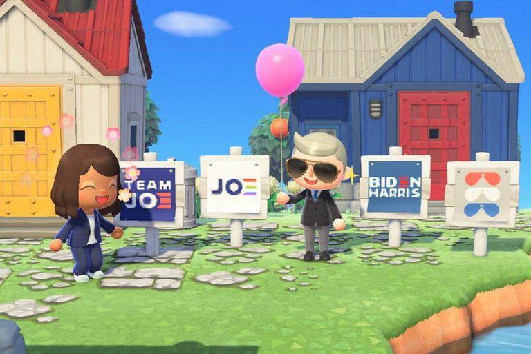 Los nuevos carteles electorales disponibles en 'Animal Crossing: New Horizons'
