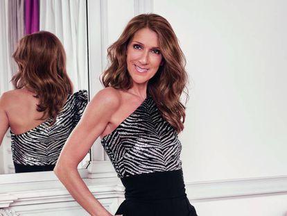 Céline Dion, como imagen de L'Oréal París.