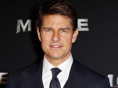 El actor Tom Cruise en la premiere de 'La momia' en París, el pasado mes de mayo.