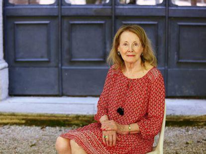 Annie Ernaux, en Roma, en 2016.