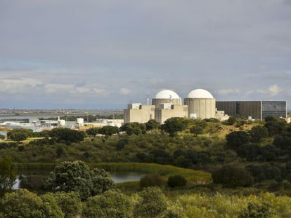 Central nuclear de Almaraz, ubicada en la provincia de Cáceres.