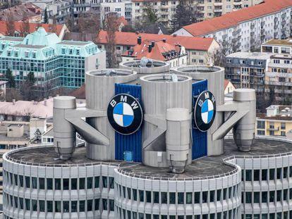 Oficinas centrales de BMW en Múnich (Alemania).