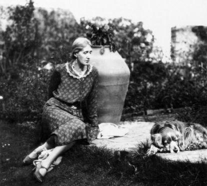 La escritora Virginia Woolf, en 1931.