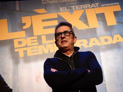 Andreu Buenafuente en la presentación de la obra teatral 'L'Éxit de la Temporada', sobre los 30 años de El Terrat.