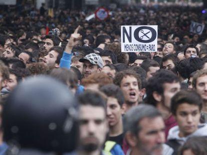 Manifestación Rodea el Congreso celebrada el 25 de septiembre.