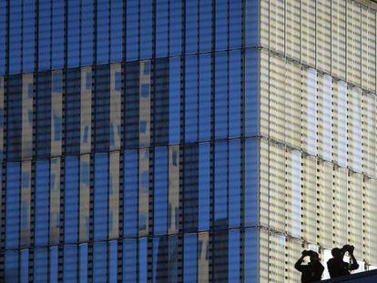 Rascacielos en Nueva York.