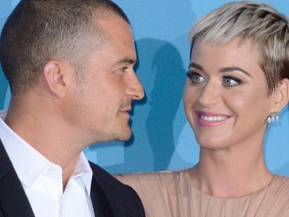 Katy Perry y Orlando Bloom, en Mónaco, el pasado septiembre.