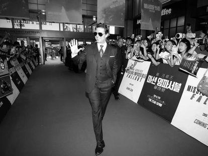 FOTO: Tom Cruise en el estreno de Misión Imposible: Fallout en Seúl, el pasado 16 de julio. / VÍDEO: Tráiler de la película.