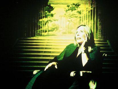 La cantautora canadiense Joni Mitchell.