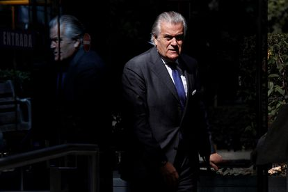 The ex-treasurer of the PP Luis Bárcenas, on July 16.