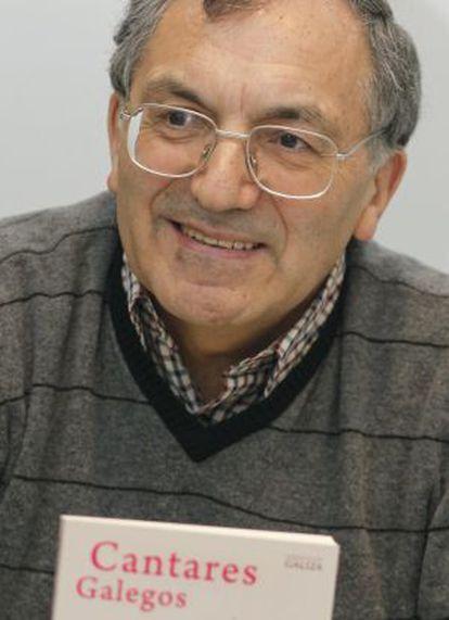 José-Martinho Montero, presidente de la Academia Galega da Língua Portuguesa.