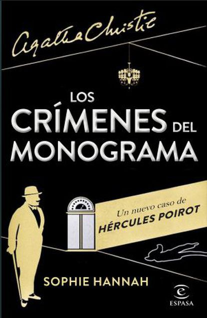 Cubierta de 'Los crímenes del monograma' en español.