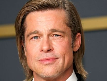 Brad Pitt, en la gala de los Oscar 2020.