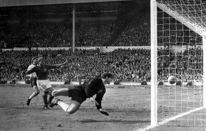 El gol de Hurst en el Mundial de 1966.
